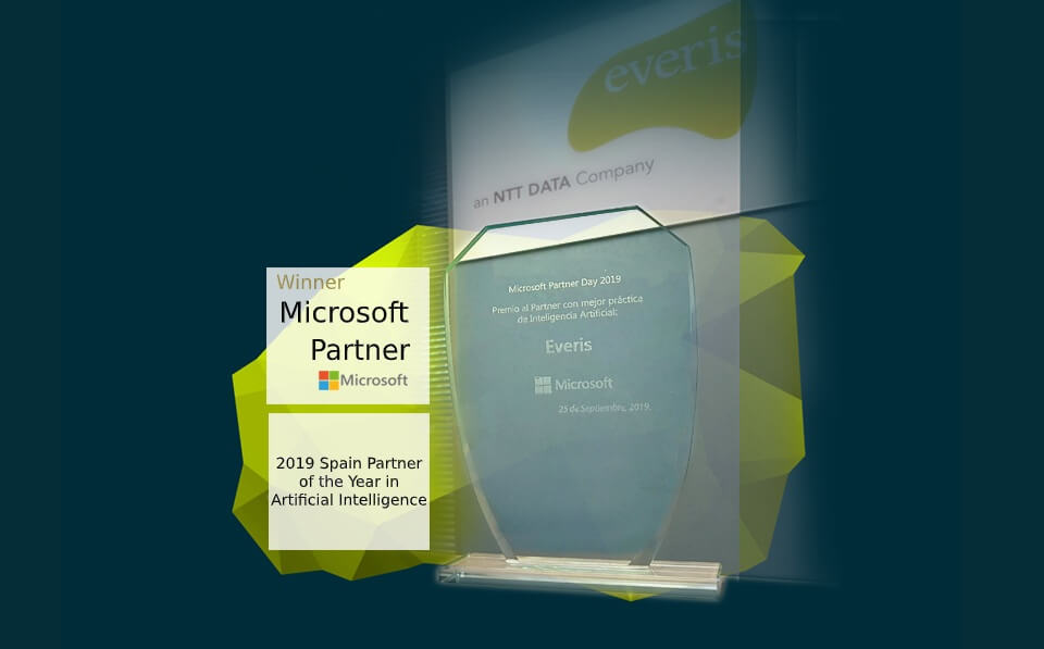 everis Microsoft Spain Best Partner 2019 in AI