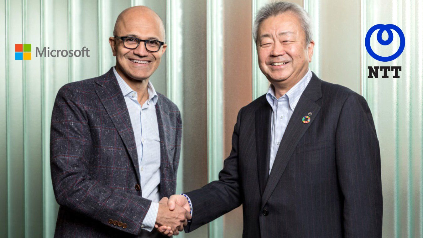 Microsoft NTT strategic alliance